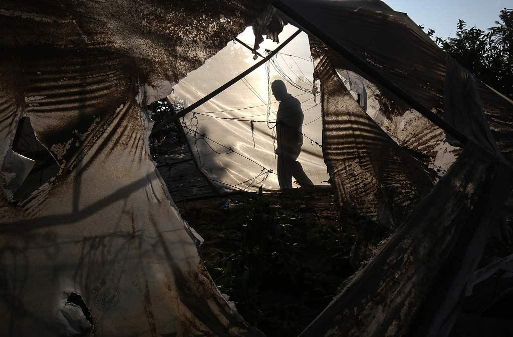 Israel strikes Hamas targets in Gaza Strip in response to rocket attack