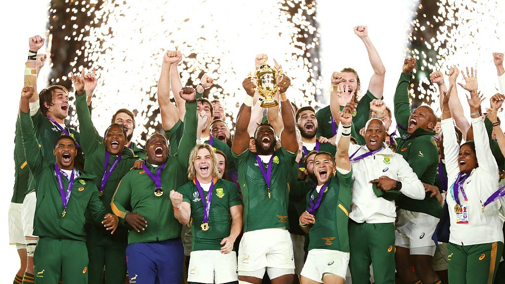 South Africa beats England 32-12, wins 3rd Rugby World Cup title