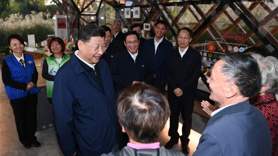 Xi hails China's democracy, calls for people-centered urban development in Shanghai