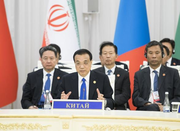 Chinese premier calls for intensified SCO cooperation