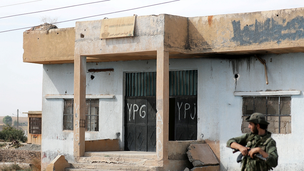 Turkey blames Kurdish militia after deadly bombing in Syrian town