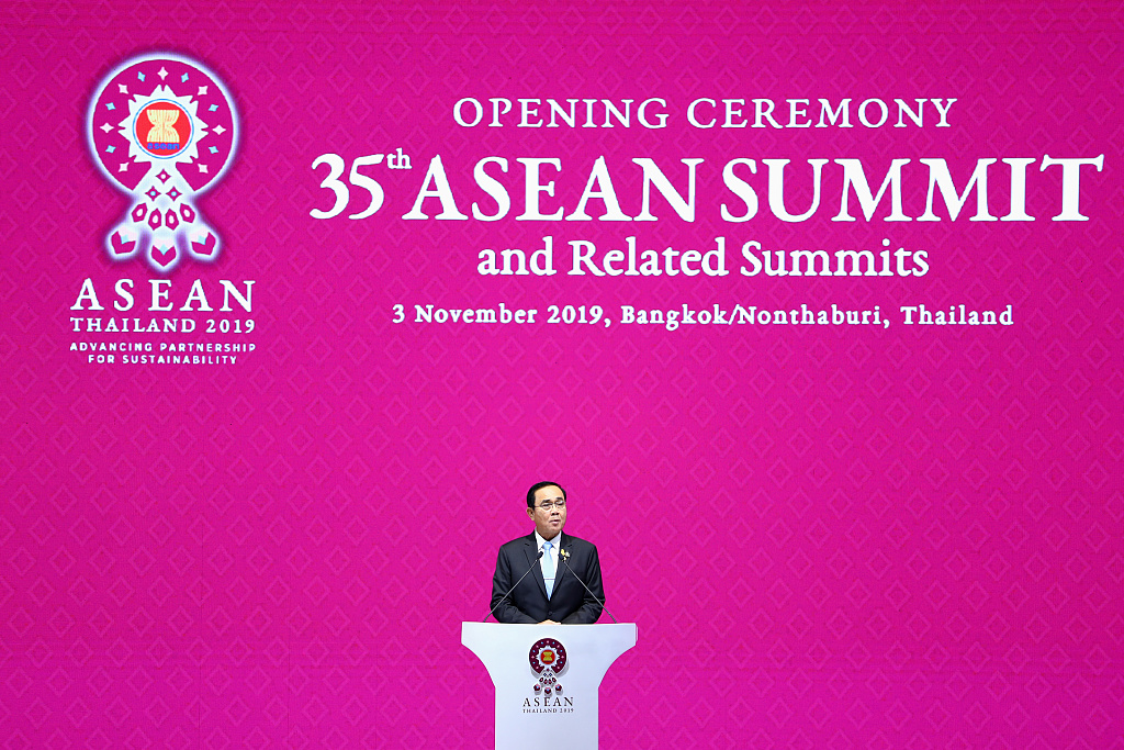 Thai PM calls for concluding RCEP negotiations within 2019 as ASEAN summit opens