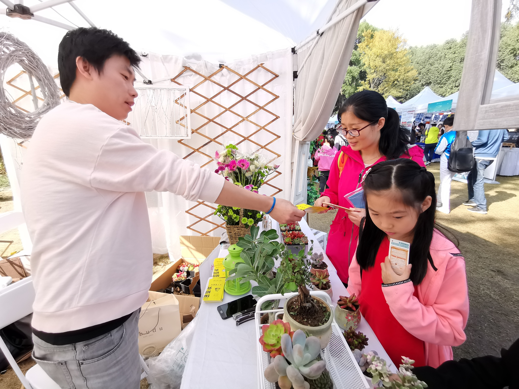 Nature Education underway in Wuhan Botanical Garden