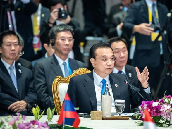 Li urges China, ASEAN to uphold multilateralism, free trade