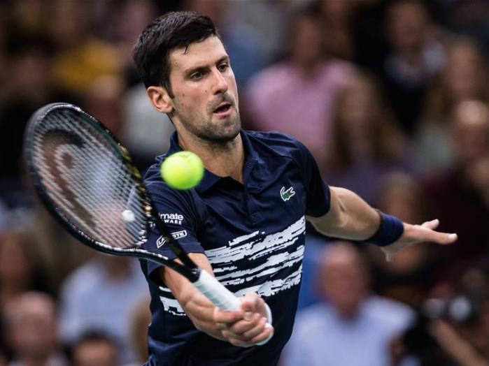 Novak Djokovic wins Rolex Paris Masters