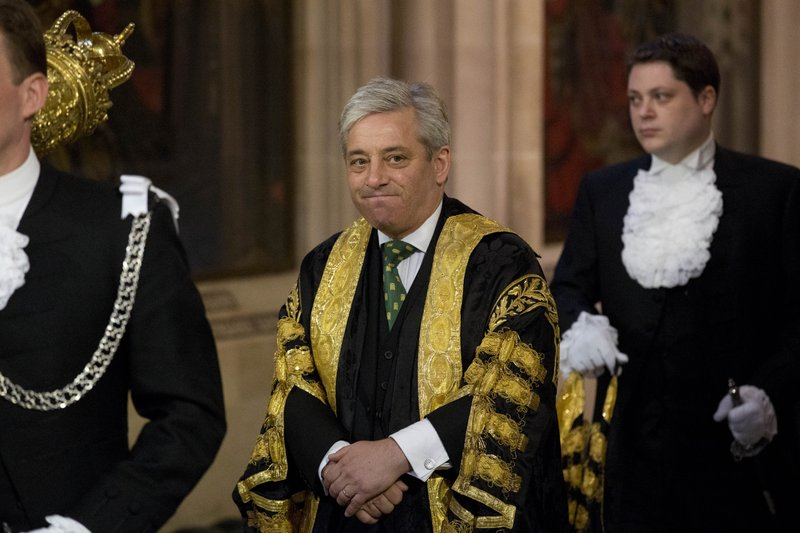 British MPs vote on new speaker after Bercow's departure