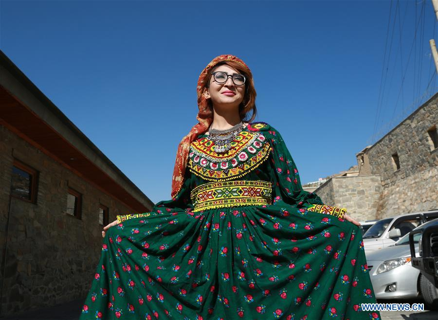 Costumes of ethnic people in Afghanistan presented at fashion show in Kabul