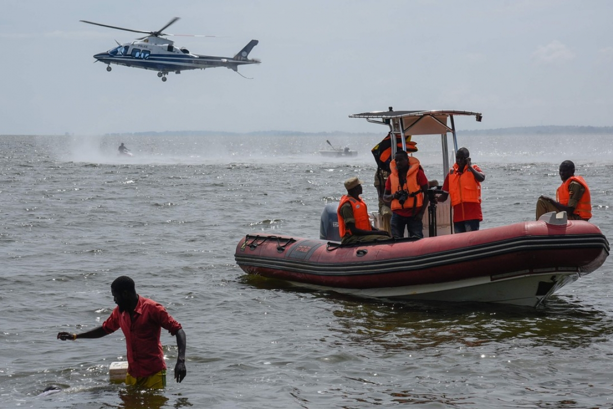 Five bodies retrieved after boat accident in western Uganda