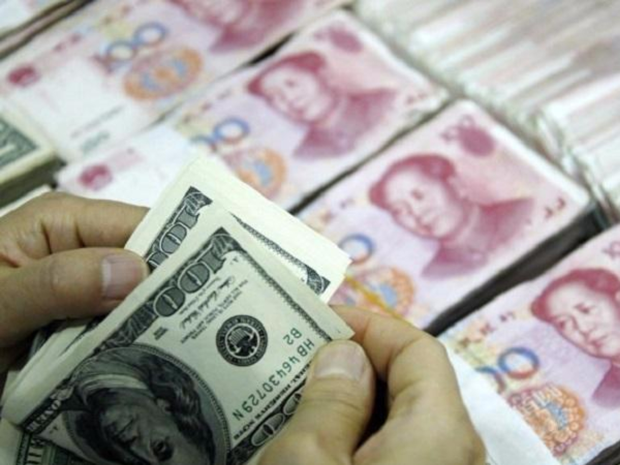 Chinese yuan weakens to 7.0385 against USD Tuesday
