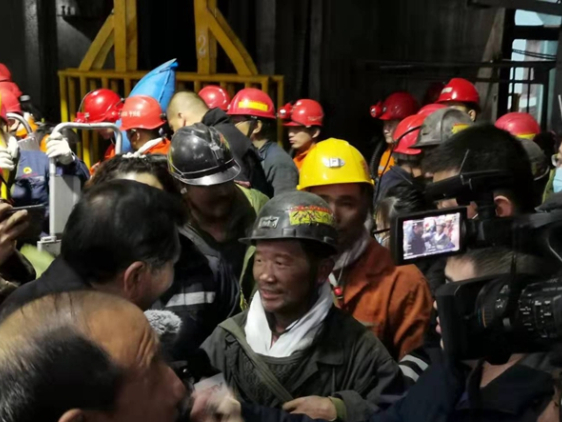 Trapped workers rescued in northeast China mine cave-in
