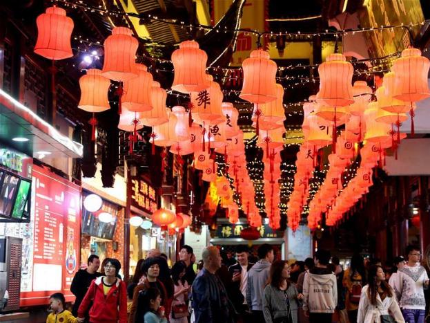 In pics: night economy in Shanghai