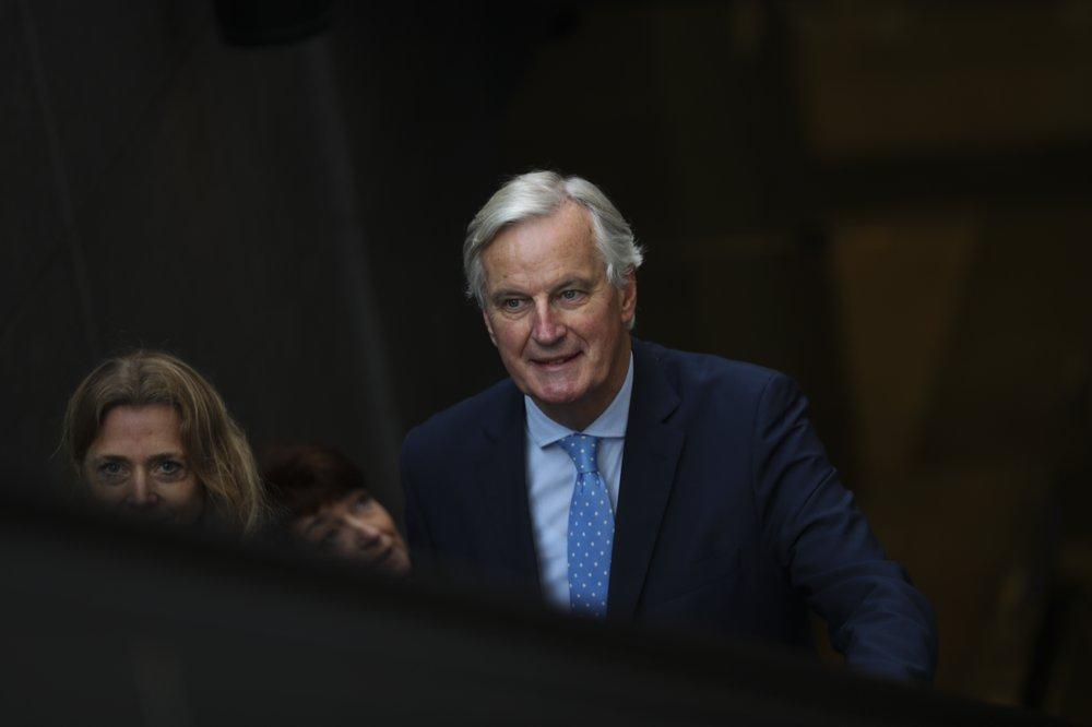 EU's Barnier warns of tough times ahead on UK trade deal