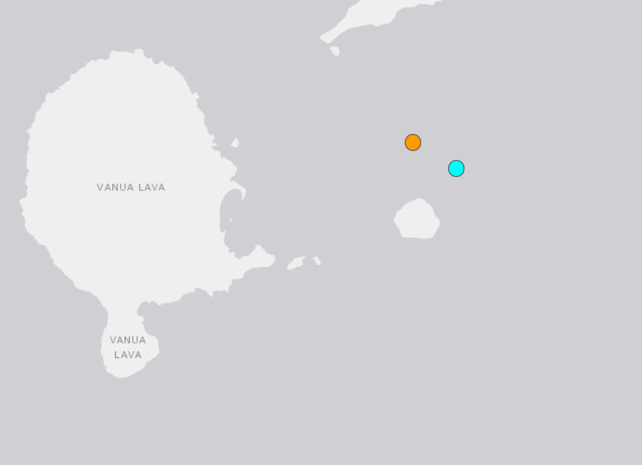 5.9-magnitude quake hits 20 km ENE of Sola, Vanuatu: USGS