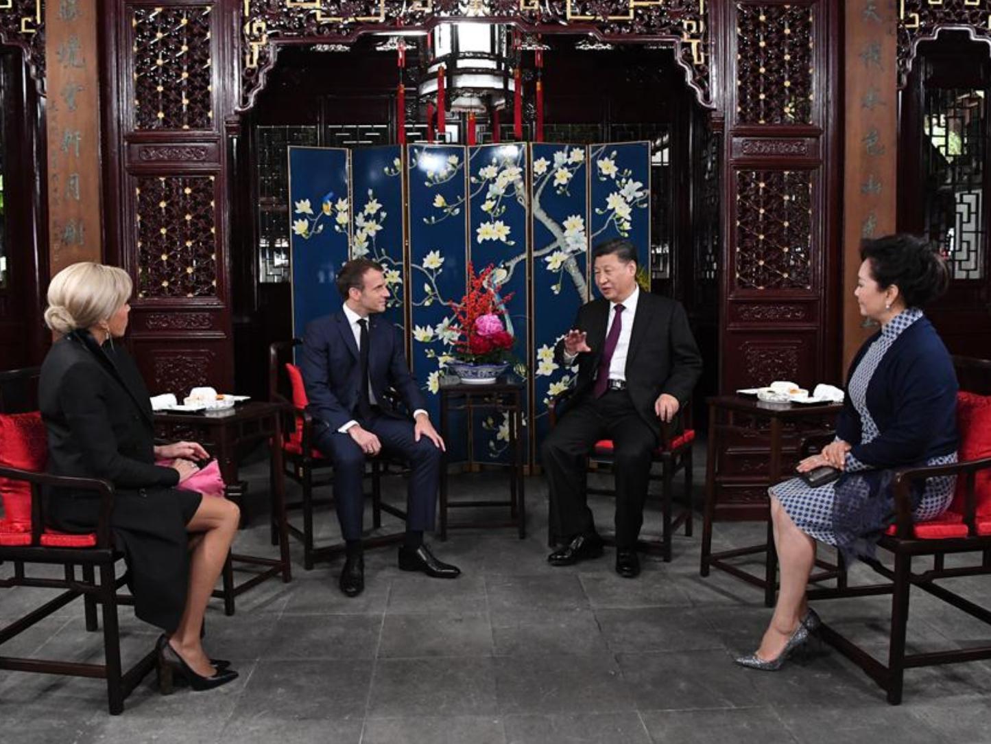 China, France should shoulder more responsibilities: Xi