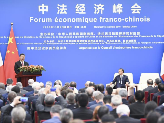 China, France vow to join hands in opening up, free trade and multilateralism