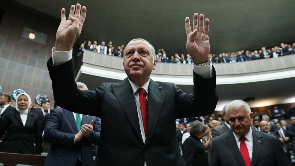 Turkey's Erdogan says Kurdish YPG have not left Syria 'safe zone'