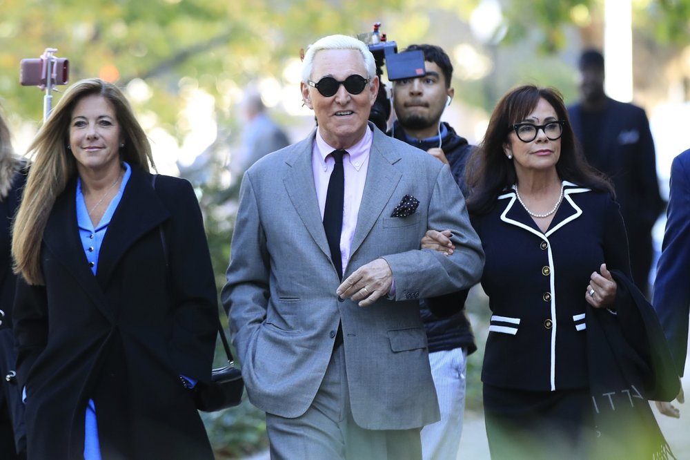 Jury selection begins in trial of Trump crony Roger Stone