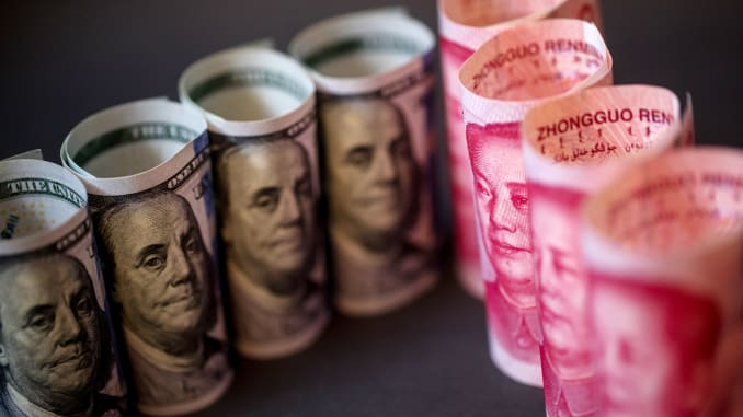 Chinese yuan strengthens to 7.0008 against USD Thursday