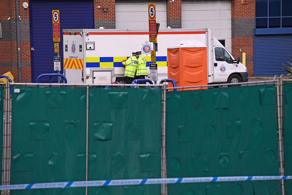 UK police say all 39 Essex lorry victims formally identified