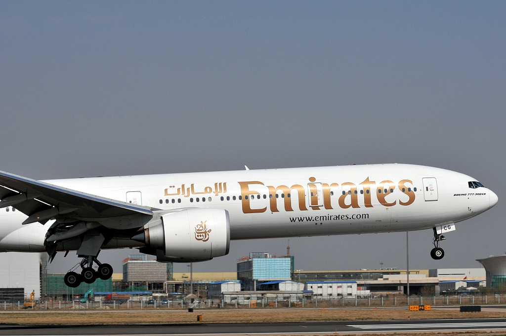Emirates Airline profits nearly triple in half-year