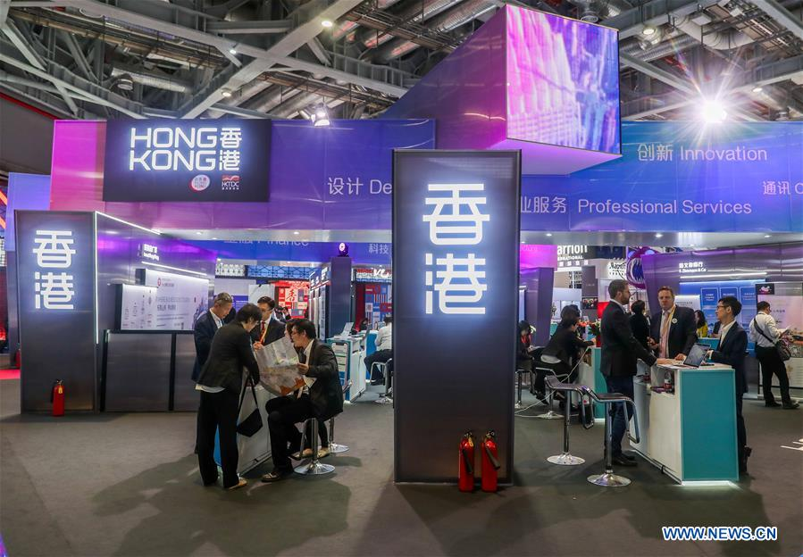 HK firms see CIIE as golden platform to expand business