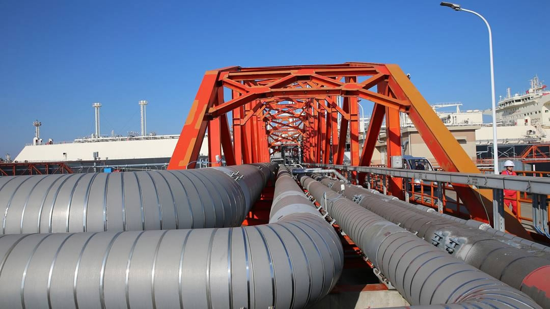 32-bln-yuan liquefied natural gas project settled in north China