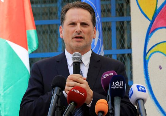 Head of UN relief agency for Palestine refugees resigns