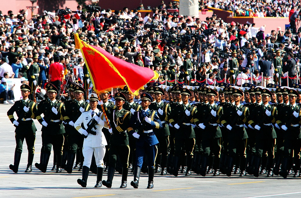China to uphold, improve Party's absolute leadership over armed forces