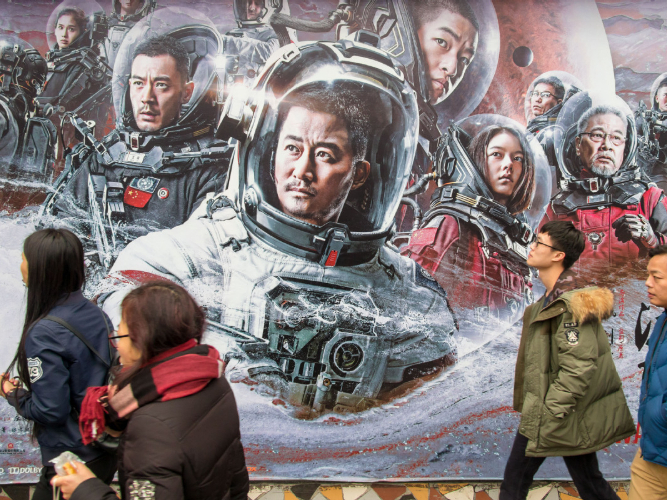 China's booming industry eyes quality sci-fi writers