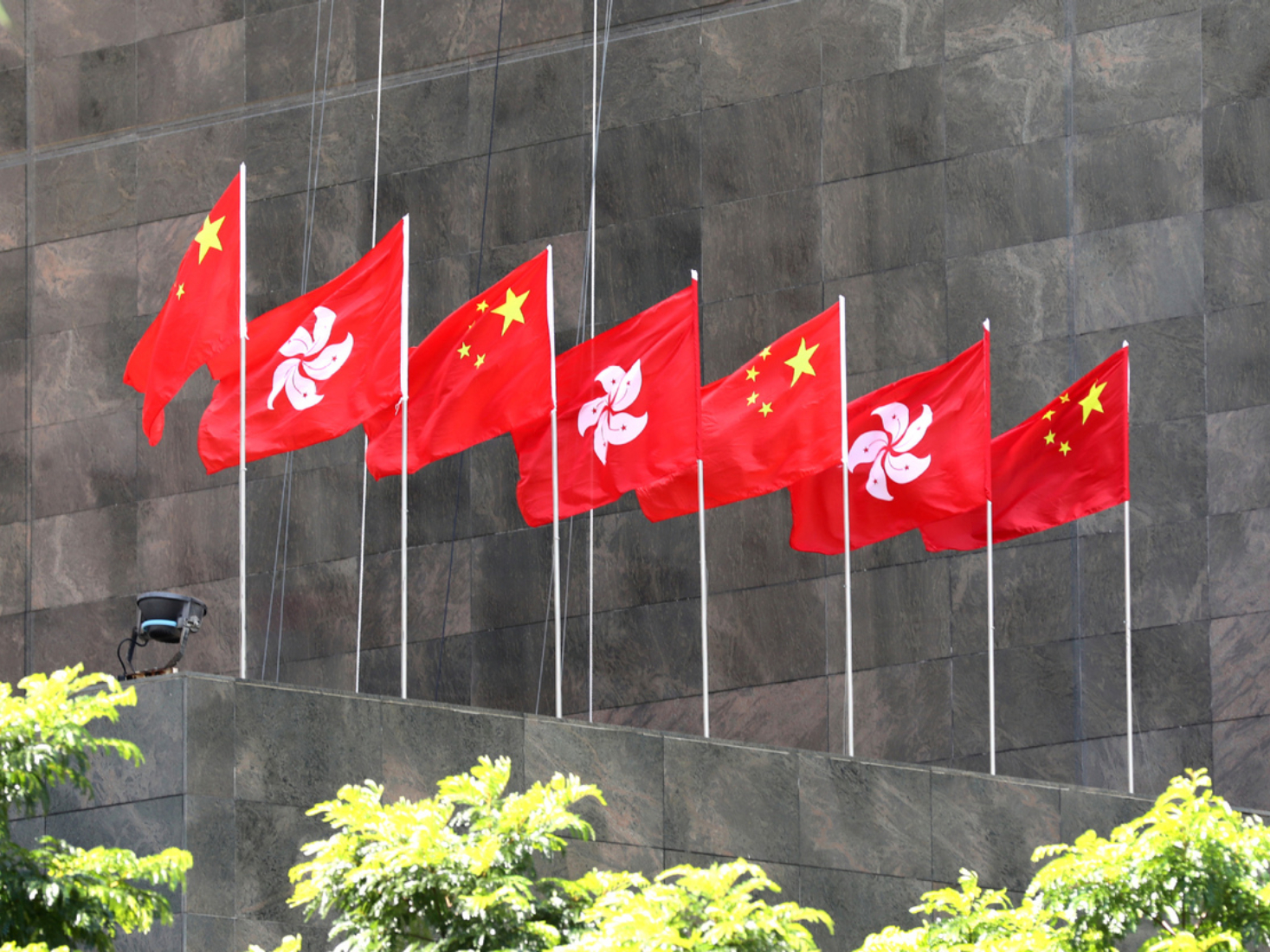 Liaison office of central gov't in HKSAR condemns attack against election candidate