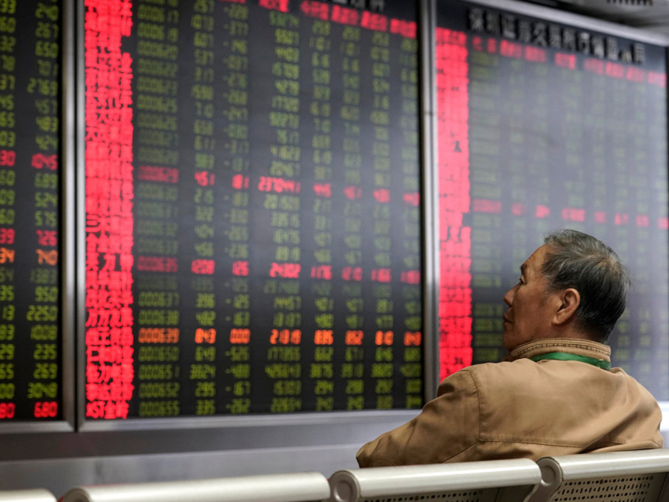 Chinese shares end higher at midday Friday