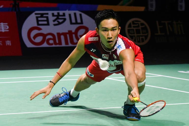 Momota survives to close on 10th badminton title of 2019