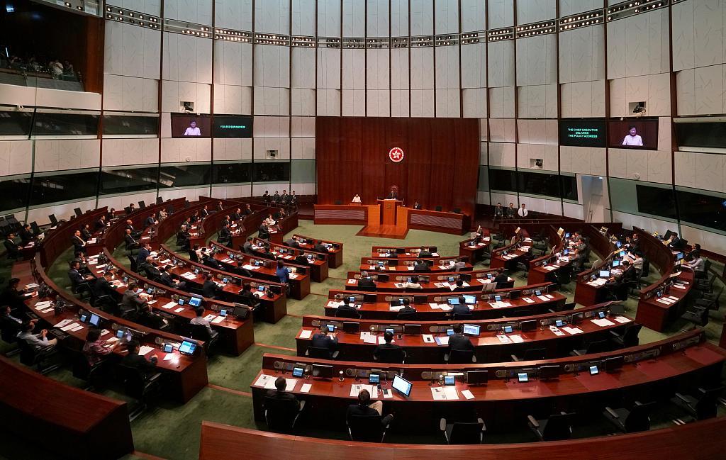 Hong Kong lawmakers arrested for violating legislative council regulation