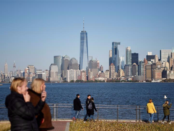 Autumn scenery in New York, U.S.