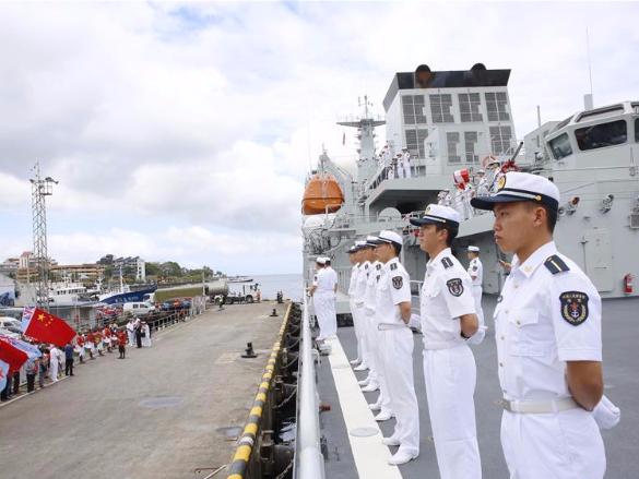 Chinese naval ship Qijiguang ends visit to Fiji