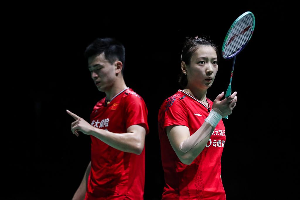 China secure mixed doubles title at BWF Fuzhou China Open