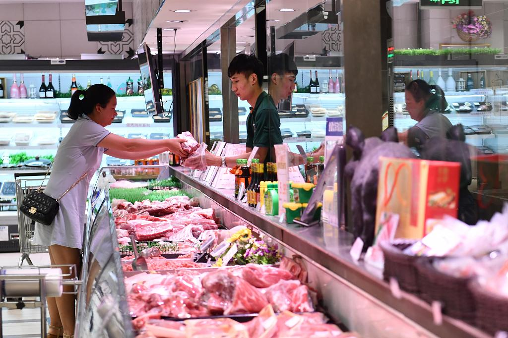 China's CPI up 3.8 pct in October
