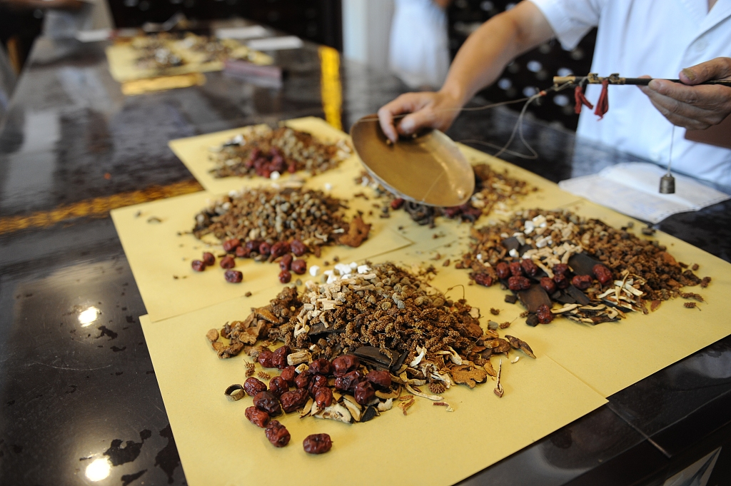 Chinese medicinal material price index up 0.03 pct