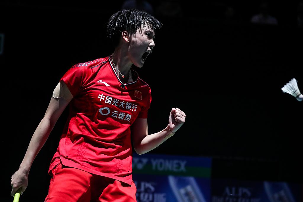 China's Chen defends women's singles title at BWF Fuzhou China Open