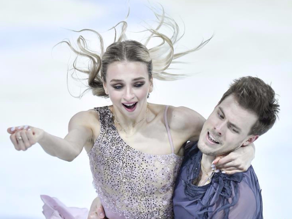 Highlights of Ice Dance Free Dance at ISU Grand Prix of Figure Skating Cup of China 2019