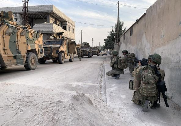 Turkish forces, Syrian rebels launch offensive in northern Syria