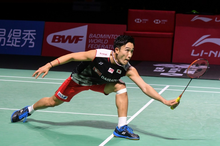 Momota defends Fuzhou crown for 10th title of 2019