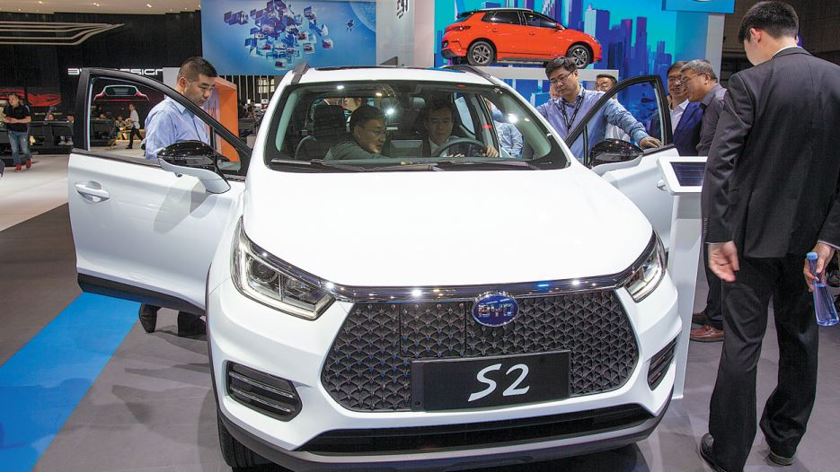 China's NEV sales post stable growth in Jan.-Oct.