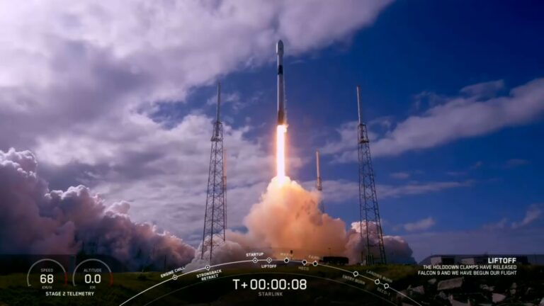 SpaceX rocket launches 2nd batch of 60 internet satellites into space