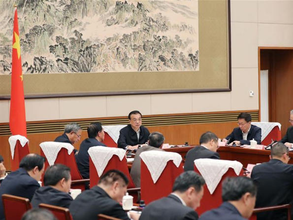 Chinese premier stresses more efforts to keep steady economic development