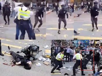 The truth of 'HK police shooting'