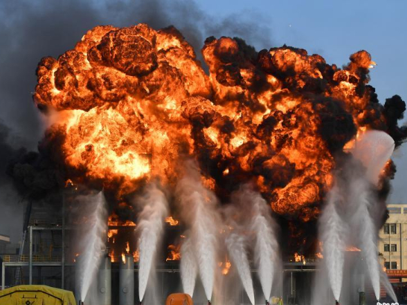 Fire drill improves response against chemical plant emergency