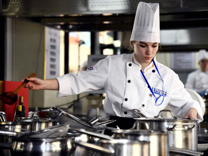 SCO Countries Vocational Skills Contest kicks off in Shandong