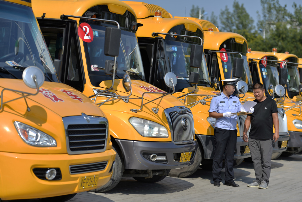 China further cracks down on illegal school buses