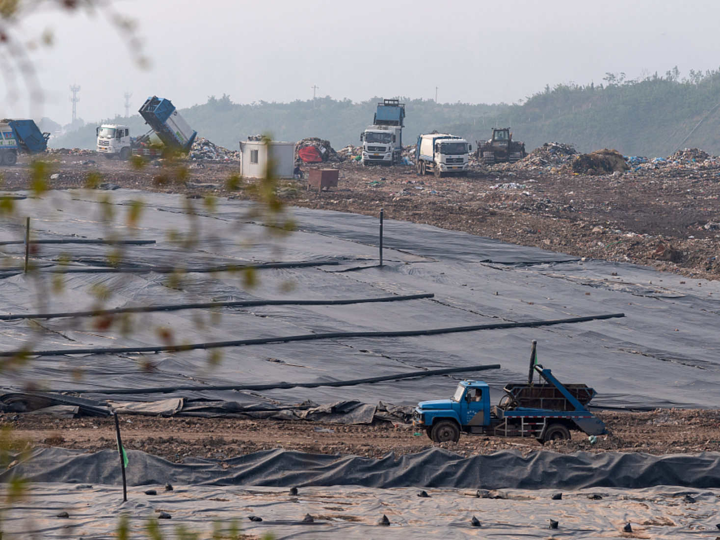China's largest landfill to be closed, will become an ecological park